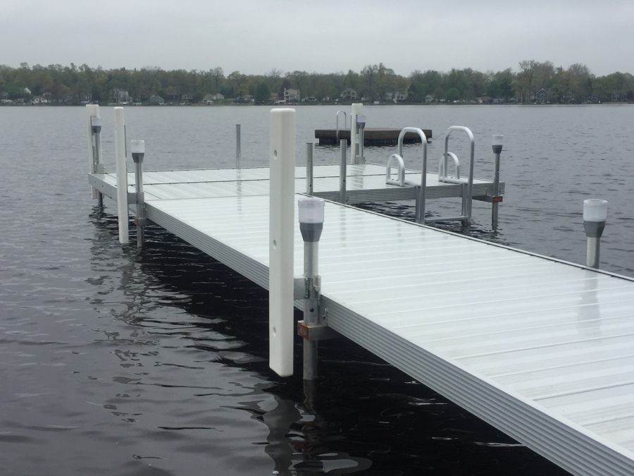 Michigan-Made Dock Supports and Dock Accessories