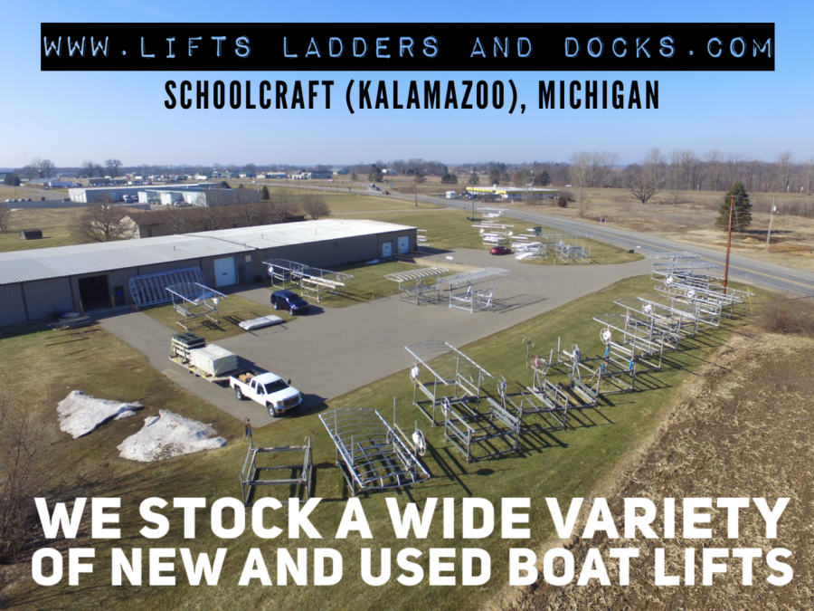 LiftsLaddersandDocks com - MI & IN Boat Lifts/ Hoists, Boat