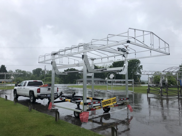 Michigan/ Northern Indiana USED BOAT LIFTS/ HOISTS For Sale