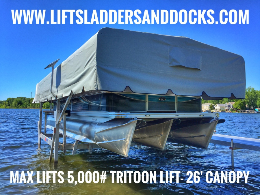 Michigan-Made Boat Lifts/ Hoists and Boat Canopies by Max